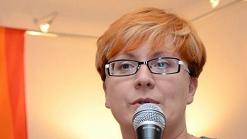 Tatiana Vinnichenko, chair of the Russian LGBT Network; Human Rights Day