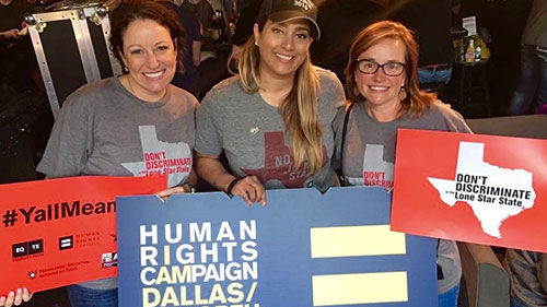 HRC Texas; Special session