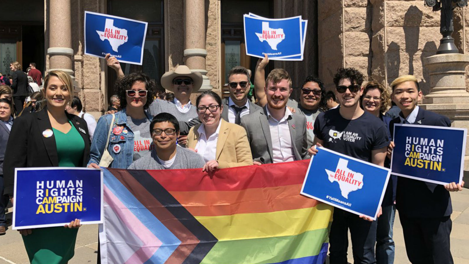 Voices of Equality Voters Heard Loud and Clear During 2019 Texas Legislative Session