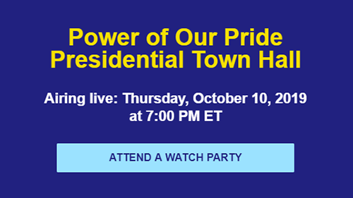 Power of our Pride Town Hall