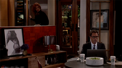 Will and Grace, HRC sticker