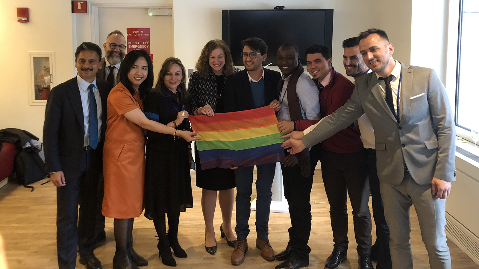 HRC Brings Global LGBTQ Advocates to World Bank Meetings