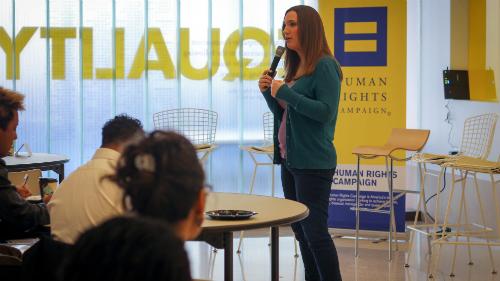 Global Innovative Advocacy Summit; Sarah McBride