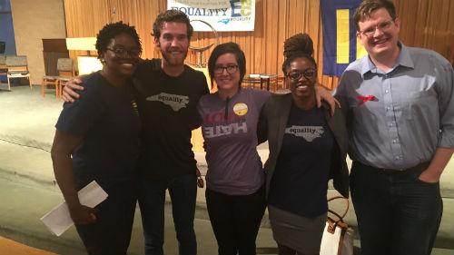 Crystal Richardson and Volunteers