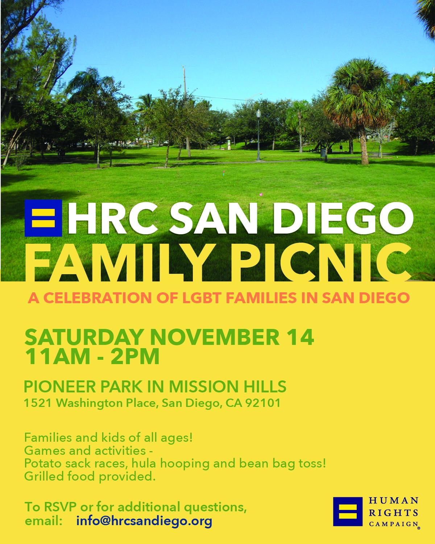 HRC San Diego Family Picnic