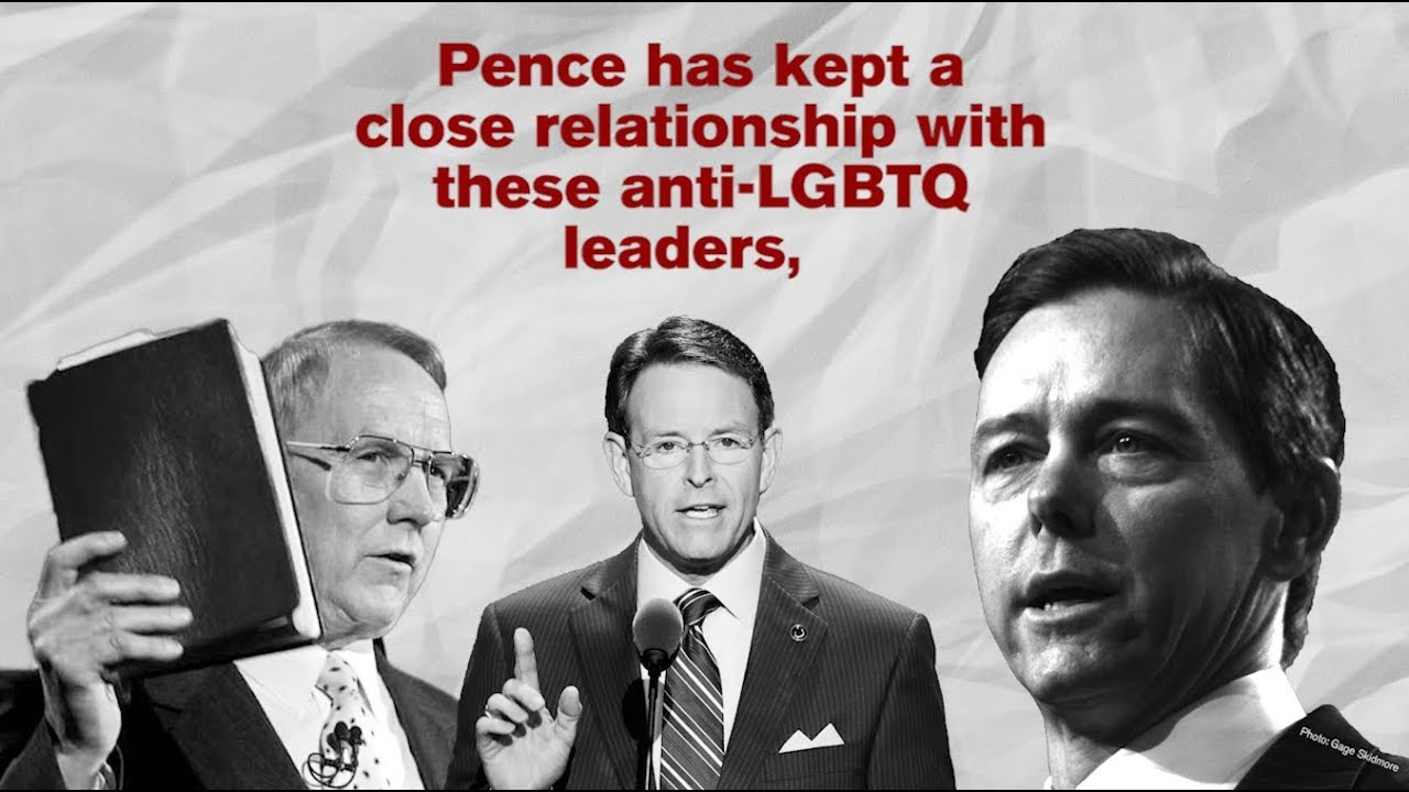 Mike Pence's Anti-LGBTQ Friends