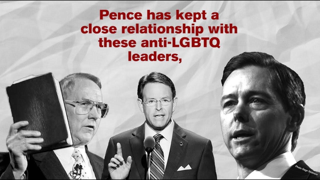 Mike Pence's Anti-LGBTQ Friends