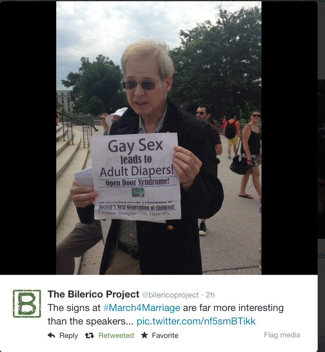 NOM; National Organization for Marriage; March for Marriage