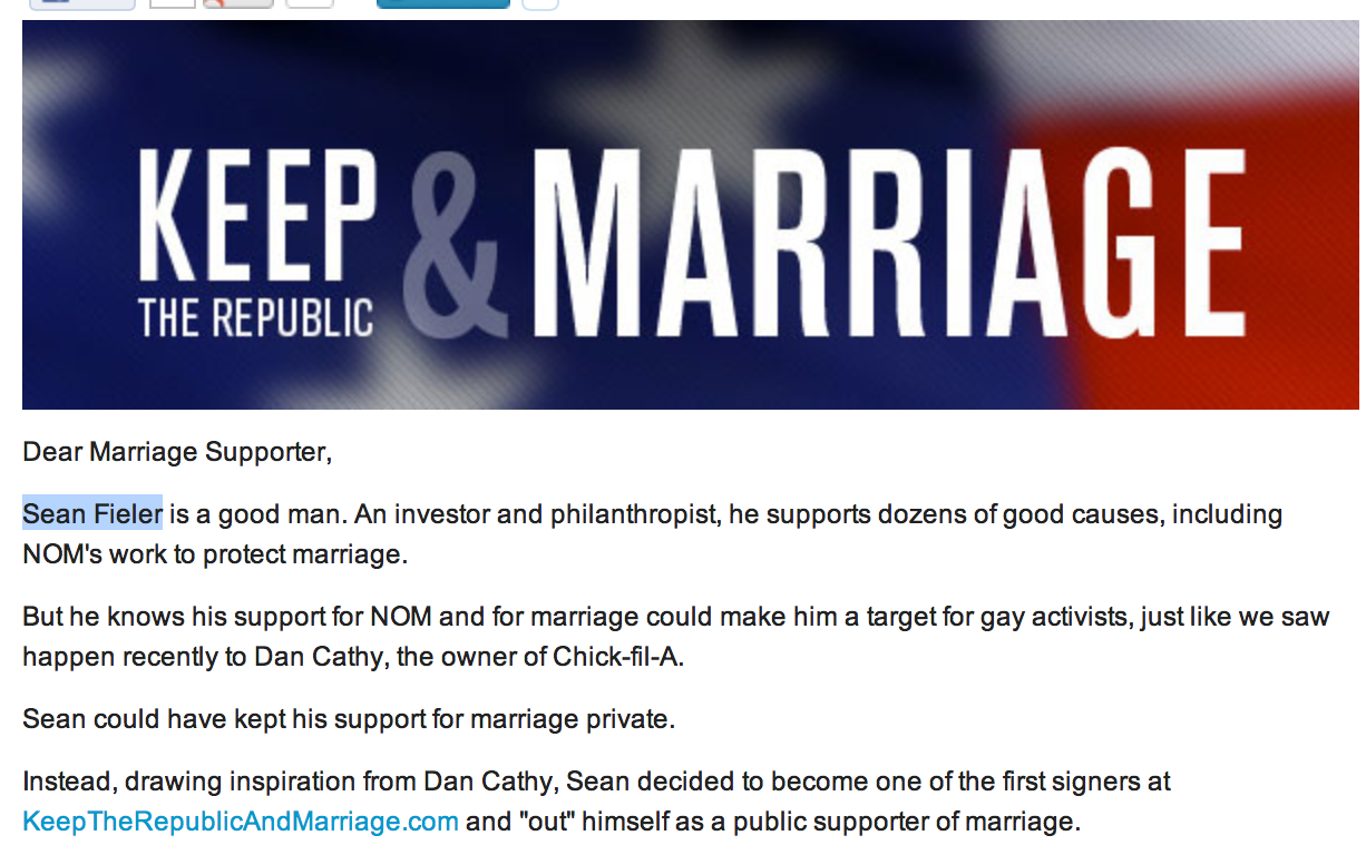 NOM Keep the Republic & Marriage
