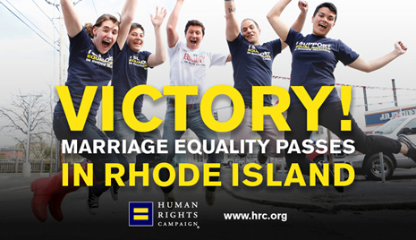 Marriage Equality Rhode Island