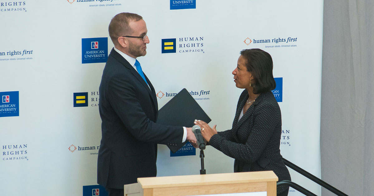 b7333b0d0d Ambassador Susan Rice Gives Historic LGBTQ Speech | Human Rights Campaign