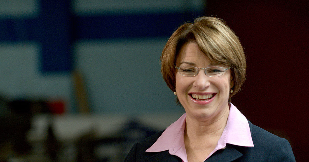 Corporate Equality Index >> HRC Endorses Minnesota Senator Amy Klobuchar for Re-election | Human Rights Campaign