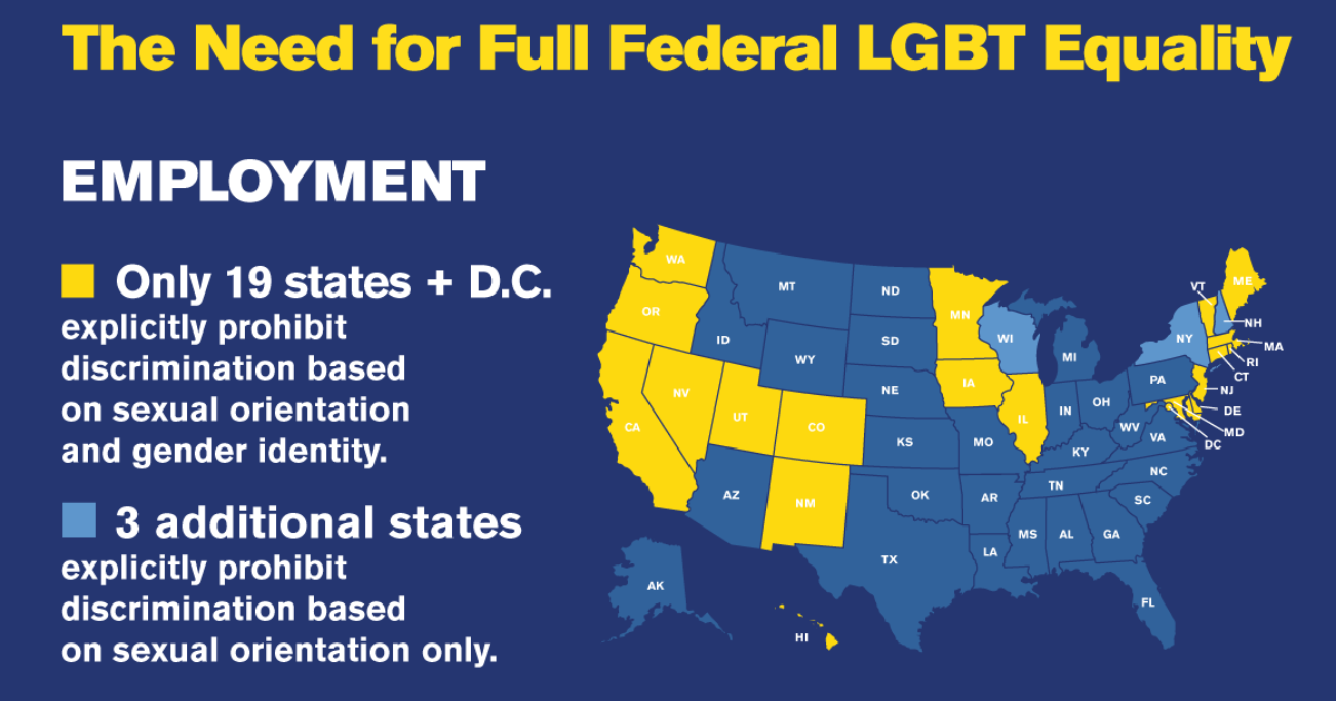 The Need For Full Federal Lgbt Equality Discrimination In The -2620