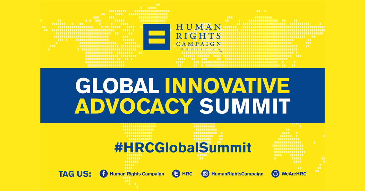 Applications for Global Innovative Advocacy Summit Open