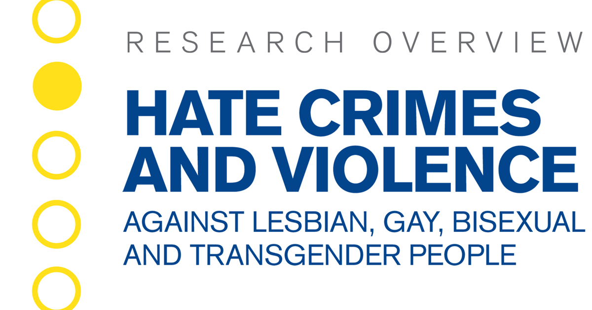Hate Crimes and Violence Against LGBTQ People | Human Rights