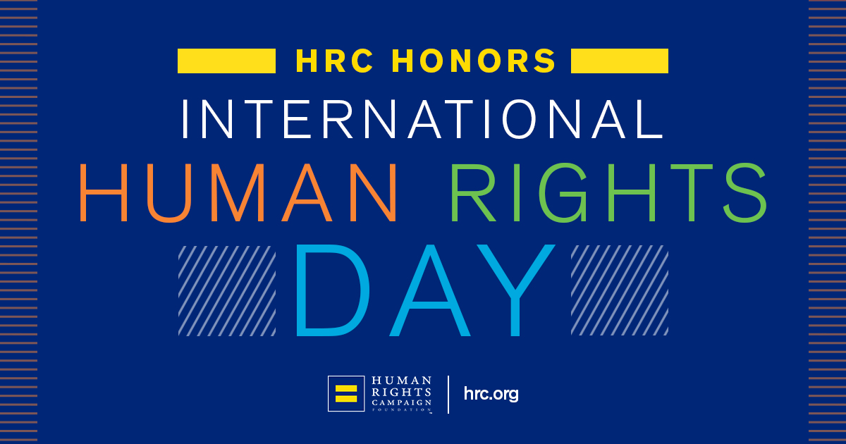 HRC Honors the 71st Annual Human Rights Day