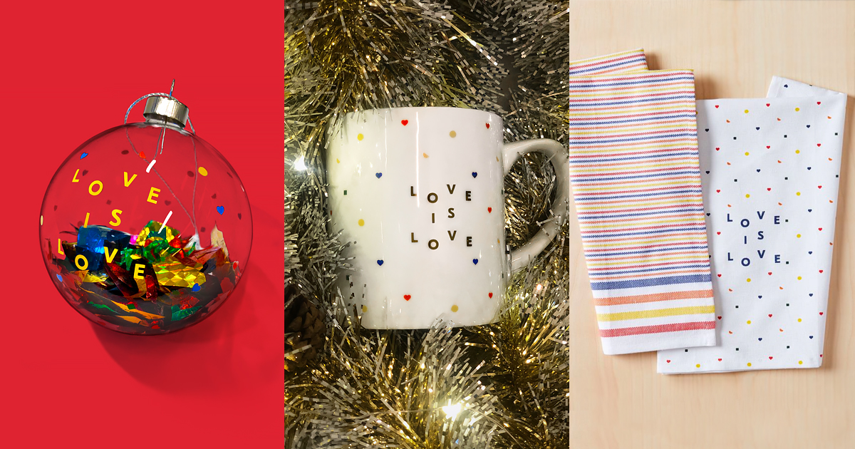 """HRC & West Elm Introduce New """"Love is Love"""" Collection"""