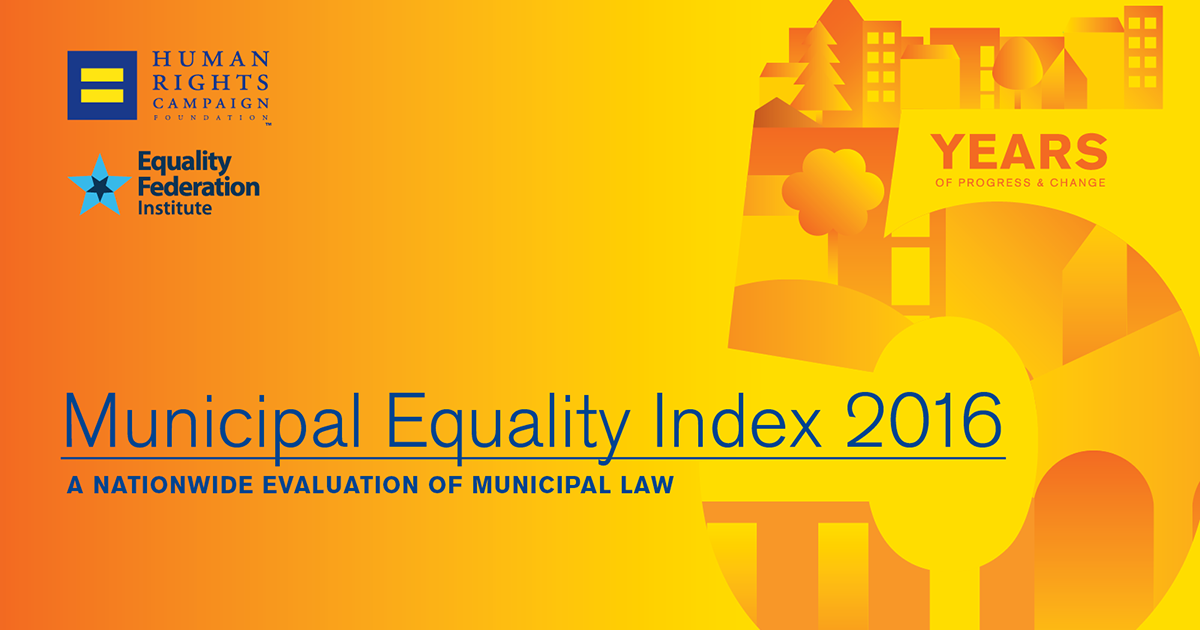 Municipal Equality Index: Cities in Battleground States | Human