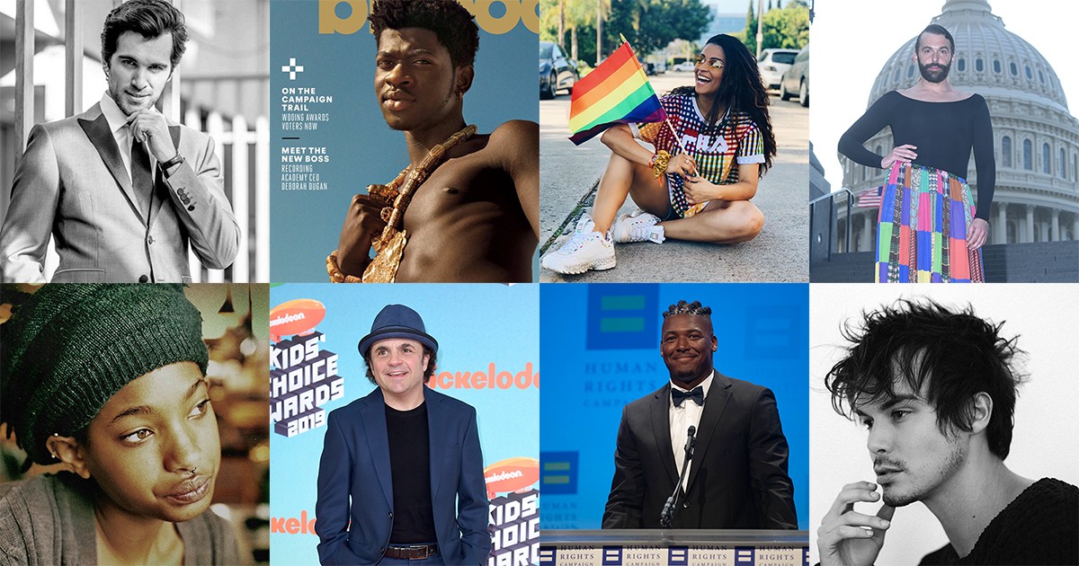 Influencers and Celebrities Come Out for Equality