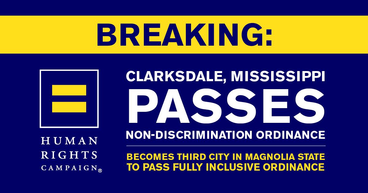 Sexual orientation discrimination ordinance