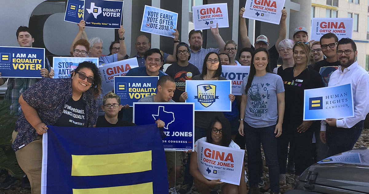 The Slate Of HRC-Endorsed Pro-Equality Candidates In Texas | Human Rights Campaign
