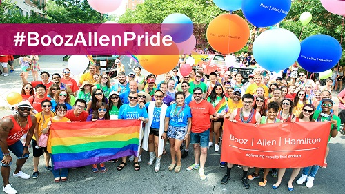Booz Allen Hamilton; Corporate Equality Index; CEI