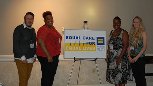 HRC Arkansas; Equal Care for Equal Lives