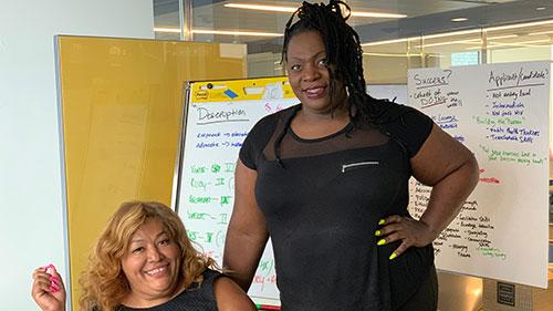 Elevate Fellowship; Ruby Corado; Tori Cooper; Trans women of color