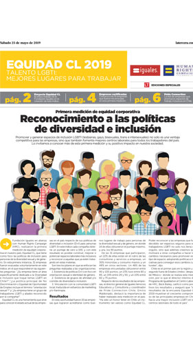 Equidad CL; Chile; Global workplace equality