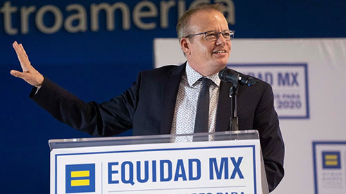 HRC Equidad MX; Global Workplace Equality; Beck Bailey