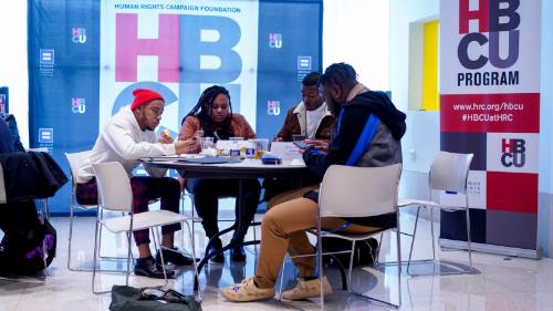 HBCU Leadership Summit LGBTQ HRC