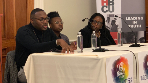 HBCUOutLoudDay panel discussion on Capitol Hill
