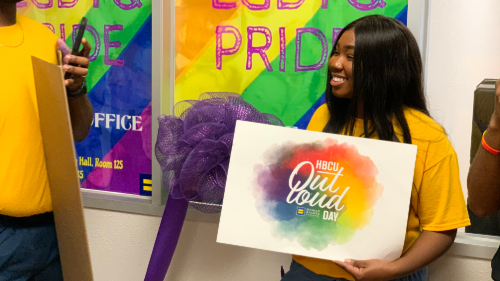 HBCUOutLoudDay PVAMU's LGBTQ Resource Center grand opening