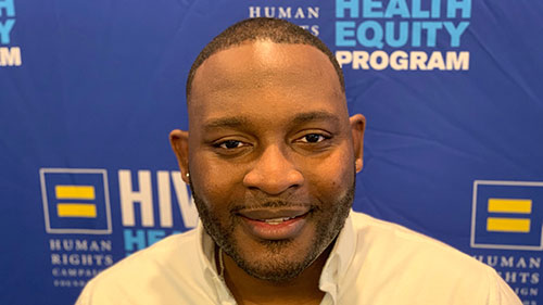 J. Maurice McCants-Pearsall; HIV and Health Equity; Elevate Fellowship