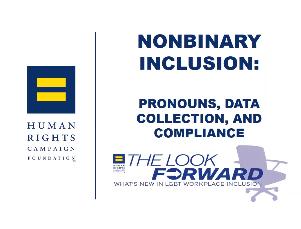 Nonbinary inclusion, pronouns