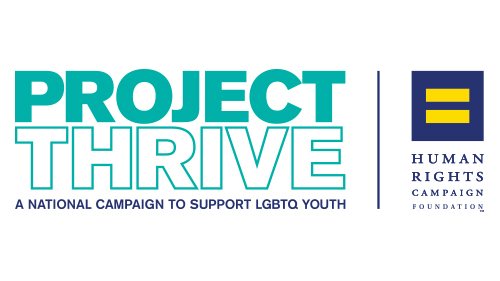 Project Thrive, Youth, HRC Foundation