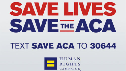 Save the ACA; Affordable Healthcare Act