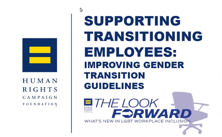 Supporting Transitioning Employees