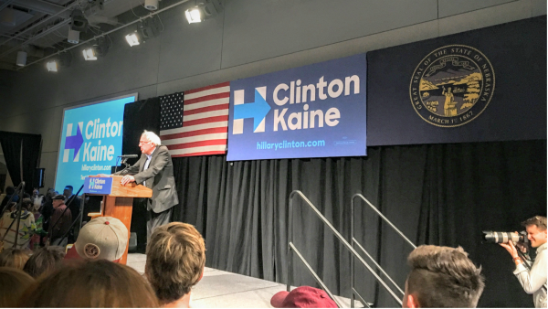 HRC Joins Bernie Sanders In Omaha to #turnOUT the vote for Hillary Clinton