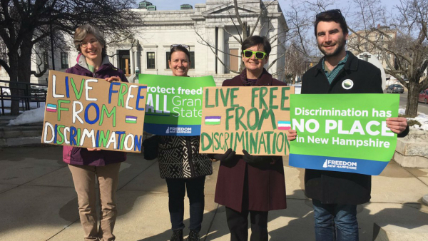 Transgender Protections Move Forward in New Hampshire Legislature