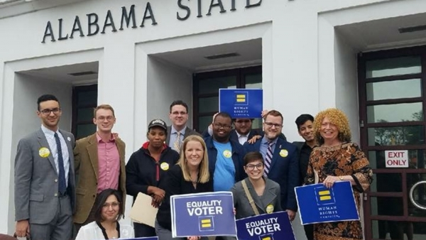 HRC Alabama Equality Voters Make Voices Heard in Montgomery