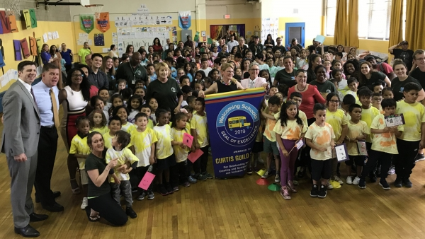 Boston's Curtis Guild School Earns HRC Foundation's Welcoming Schools Seal of Excellence
