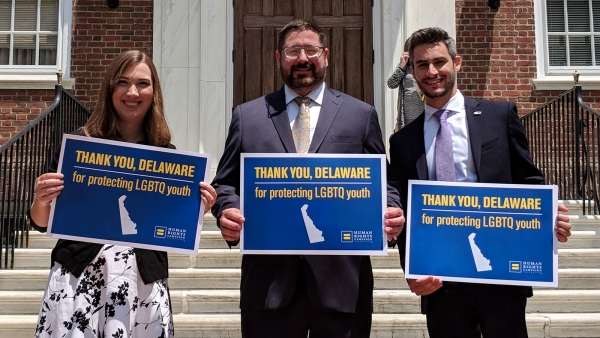 "BREAKING: Delaware Legislature Sends Anti-""Conversion Therapy"" Bill to Gov. Carney's Desk"