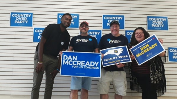 North Carolina Deserves A True Ally: Dan McCready Needs Your Vote on Tuesday