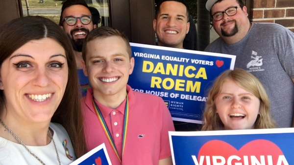 Human Rights Campaign Congratulates Del. Danica Roem on Her Reelection