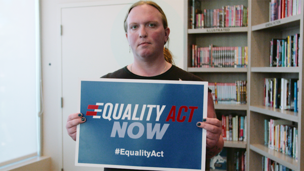 A Trans Nevadan is Sharing Her Harrowing Journey to Urge Congress to Pass the Equality Act