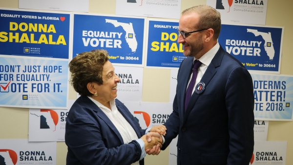Human Rights Campaign and SAVE Endorse Donna Shalala for U.S. Congress (FL-27)