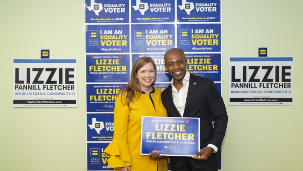 Human Rights Campaign Endorses U.S. Rep. Lizzie Fletcher for Reelection