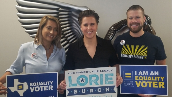 Human Rights Campaign Endorses Lorie Burch for U.S. Congress