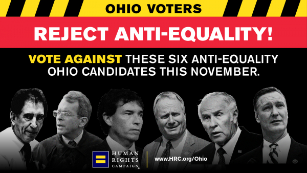 HRC Exposes Ohio's Slate of Anti-Equality Candidates
